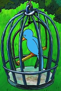 Birdy in Wormy