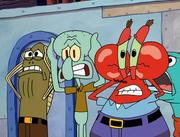 Sandy, SpongeBob, and the Worm 043