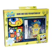 SpongeBob's Atlantis SquarePantis DS Game and Case