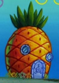 SpongeBob's pineapple house in Season 4-6