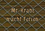 161b. Mr. Krabs macht Ferien