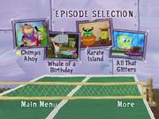 Season 4 Volume 2 disc 1 episode selection screen 1