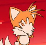 Tails facepalm