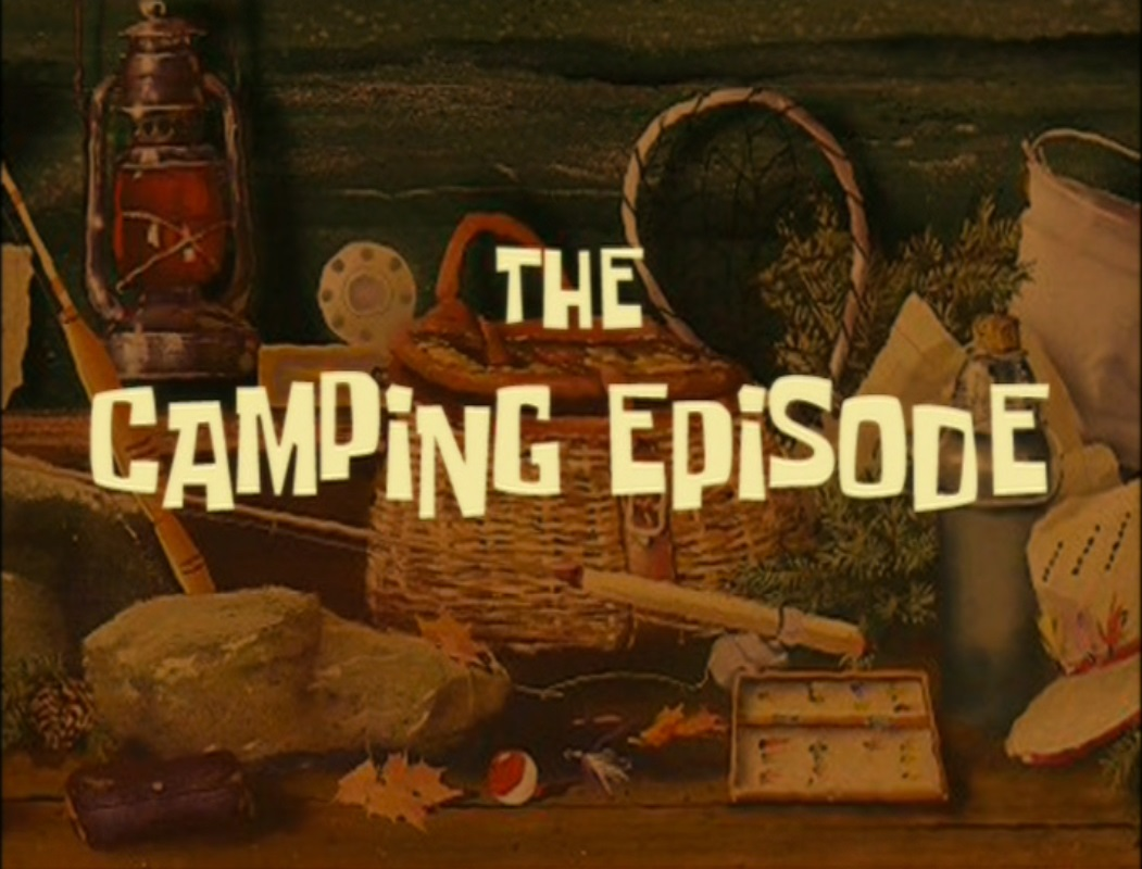 the camping episode transcript encyclopedia spongebobia
