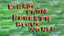 Escape from Beneath Glove World