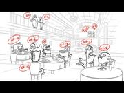 Krusty Katering storyboard incidentals 1