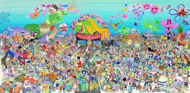 Nickelodeon San Diego Comic-Con 20th anniversary SpongeBob SquarePants poster