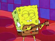 SpongeBob's Ukulele in Smoothe Jazz at Bikini Bottom