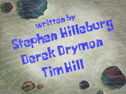 Stephen Hilleburg error in Help Wanted