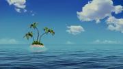 The spongebob movie palm tree