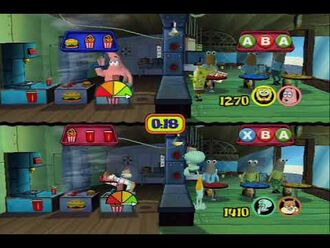 SpongeBob SquarePants Lights, Camera, Pants! - Full Xbox walkthrough