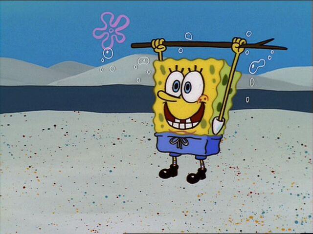 File:Spongebob Holding 1 Stick.jpg
