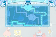 SpongeBob's Truth or Square (online game) - Map