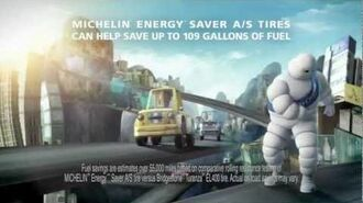 The Michelin Man Defeats the Evil Gas Pump