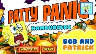 SpongeBob Squarepants - Patty Panic - Full Gameplay - Online TV for Kids - HD