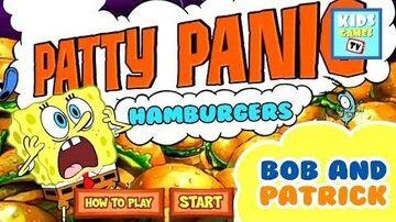 SpongeBob Squarepants - Patty Panic - Full Gameplay - Online TV for Kids - HD