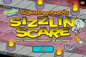 Squidward's Sizzlin' Scare