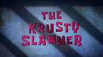 The Krusty Slammer (Title Card)