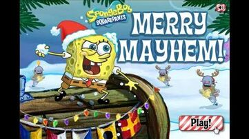 SpongeBob SquarePants Merry Mayhem! game