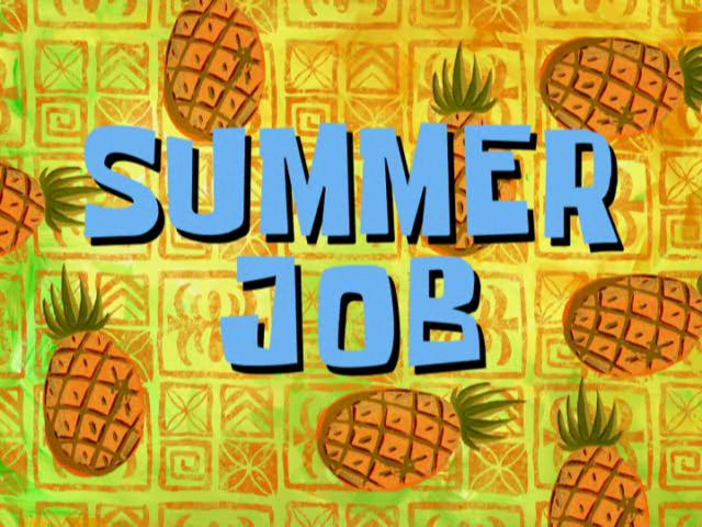 Image result for summer job