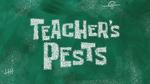 Teacher's Pests