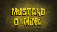 Mustard O Mine