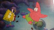 Spongebob-Squarepants-Original-Production-Cel-Cell-Animation-Art Sandy's rocket