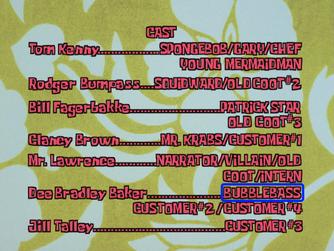 Bubblebass credits