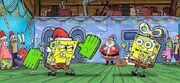 It's a SpongeBob Christmas! concept art