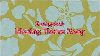 SpongeBob Closing Theme Song