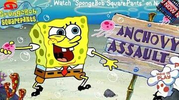 SpongeBob SquarePants - Anchovy Assault