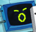 SpongeBob SquarePants Karen the Computer Face-8