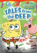 SpongeBob Tales from the Deep Australian DVD