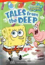 SpongeBob Tales from the Deep Australian DVD