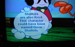 The Krusty Sponge Gene Shallots