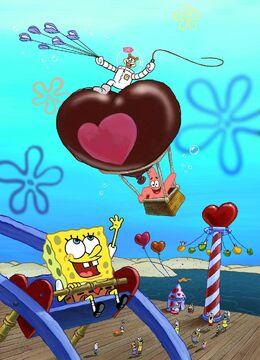 Valentine's Day promo art