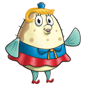 Mrs. Puff stock art