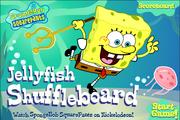 Spongebob Squarepants Jellyfish Shuffleboard Title Screen