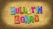 Bulletin Board title card