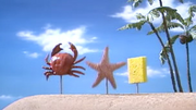 Mr. Krabs, Patrick and SpongeBob On Land