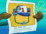 Soda drinking hat