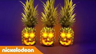 Как украсить ананас Nickelodeon Россия