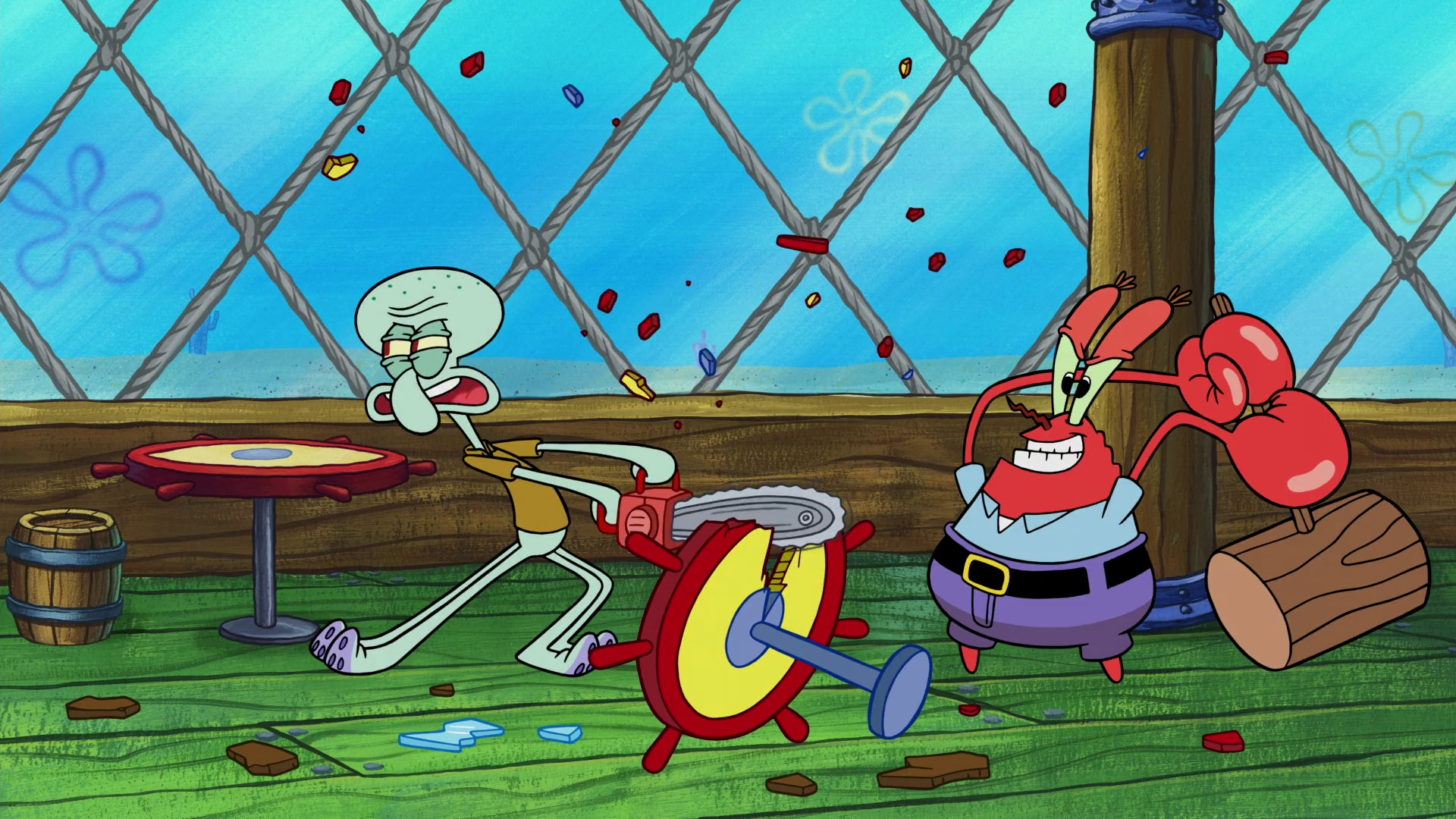 Squidward-Mr. Krabs relationship | Encyclopedia ...