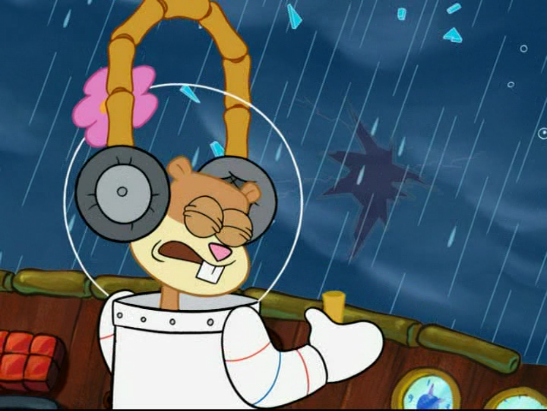 image sandy in spongebob squarepants vs the big one 43 png