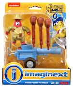Sponge out of water Imaginext Food fight Patrick