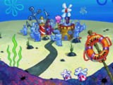 List of places in Bikini Bottom