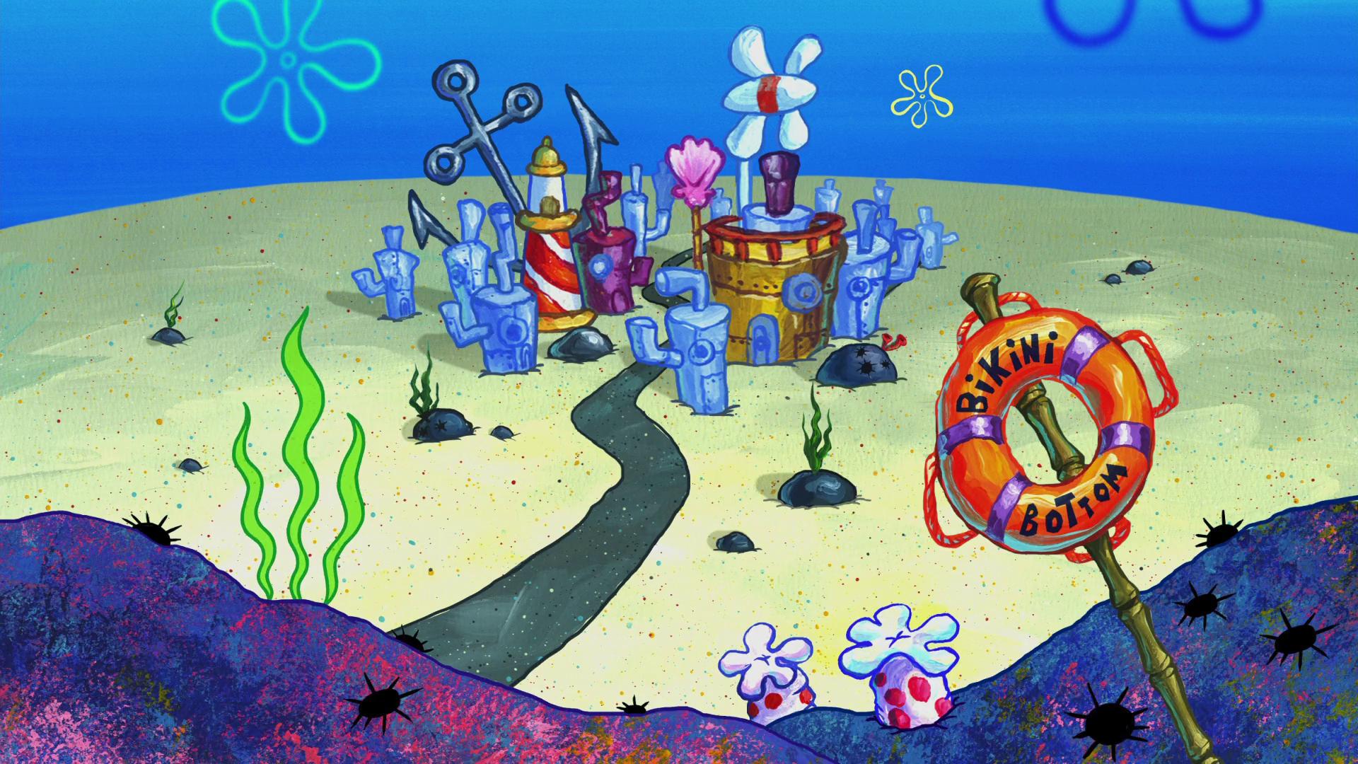 List Of Places In Bikini Bottom Encyclopedia Spongebobia Fandom