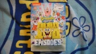 SpongeBob The Next 100 Episodes DVD Unboxing