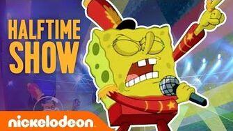 Super Bowl SpongeBob SquarePants Half-time 🏈Show Moment Nick