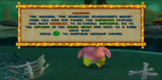 The SpongeBob SquarePants Movie video game warning